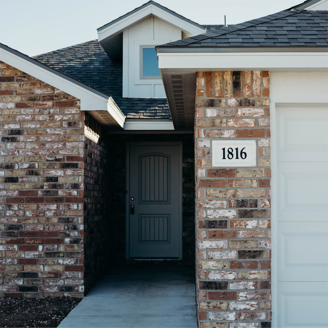 Lubbock New Home Exterior